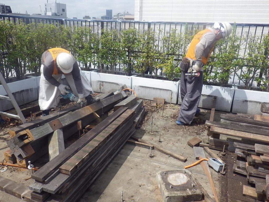 2解体工事の様子