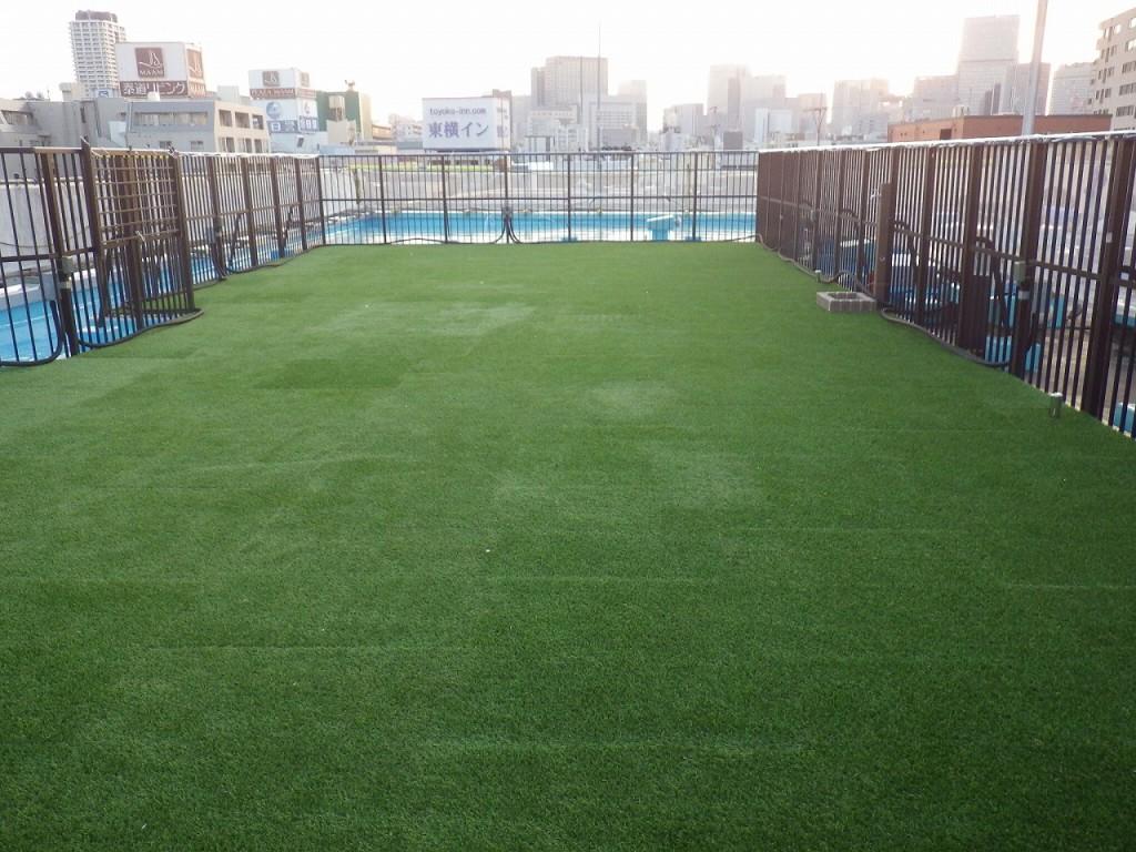 5人工芝の敷設